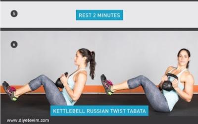 kettlebel egzersiz hareketleri