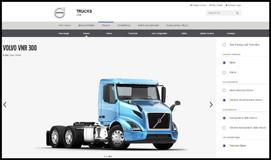 New Volvo VNR Trucks Online Configurator