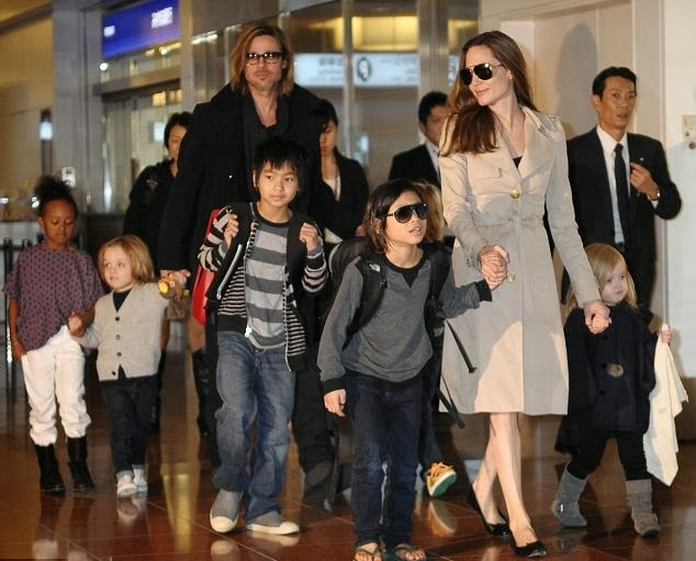 Brad Pitt and Angelina Jolie announced the adoption of the seventh child