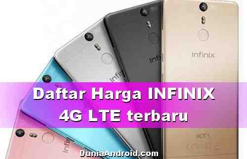 Daftar Harga HP INFINIX 4G Murah harga sejutaan