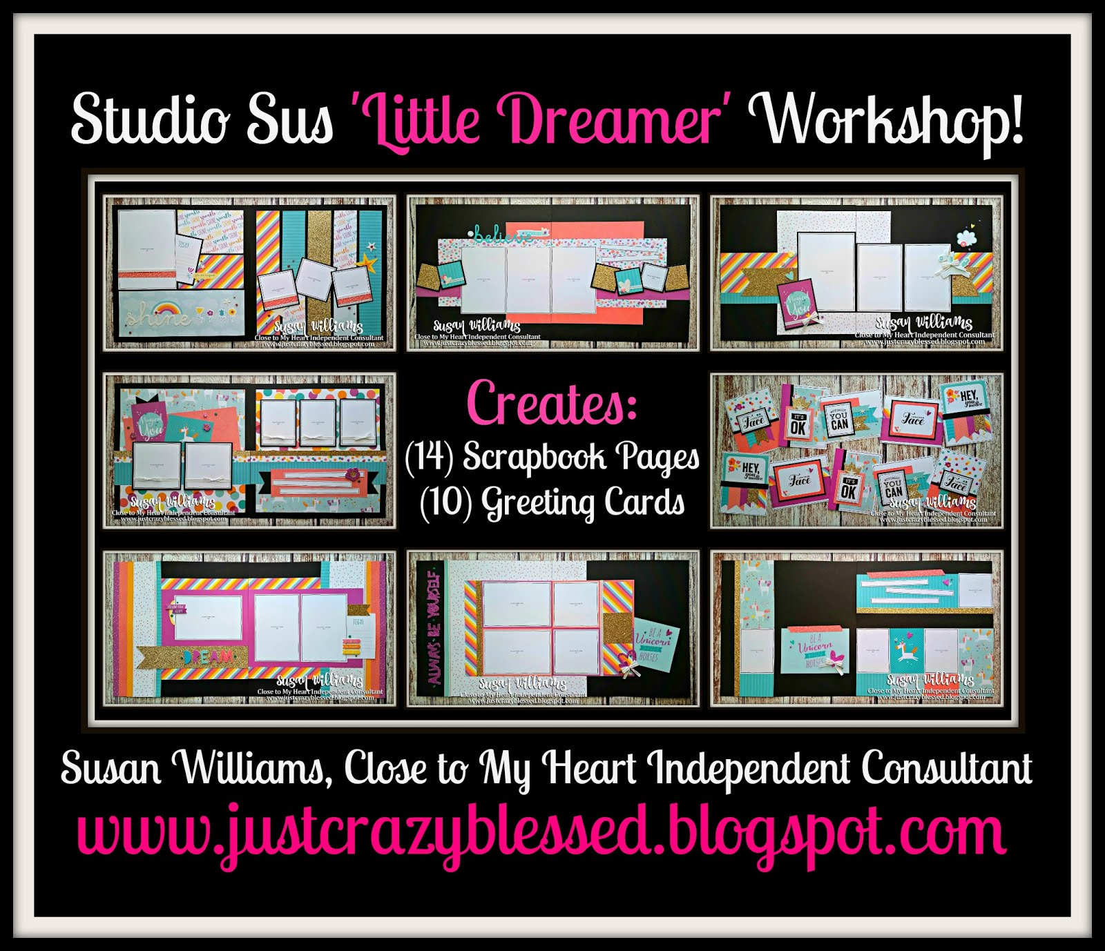 'Little Dreamer' Scrapbooking Workshop!