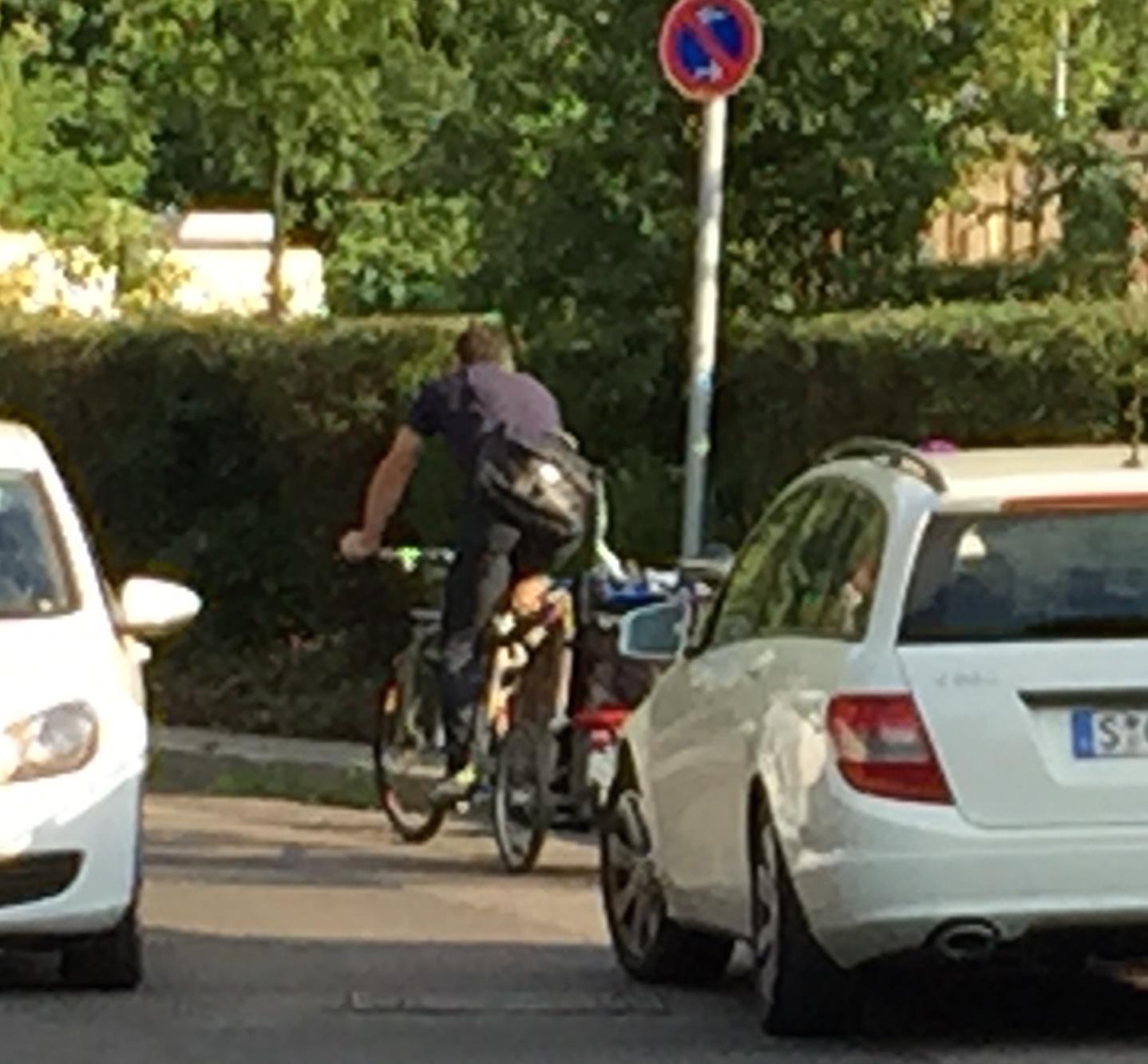 Radfahren in Stuttgart: Der Kessel ist voll
