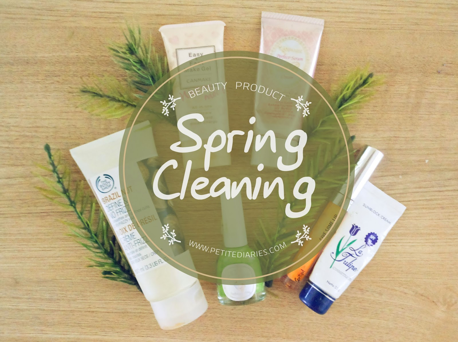 beauty spring clean