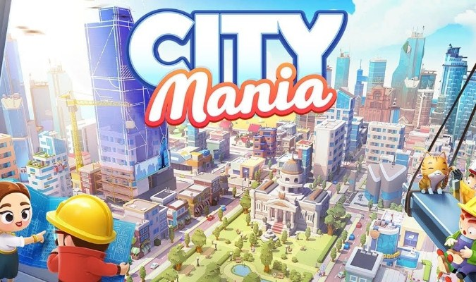 Game City Building Terbaik untuk Android - City Mania: Town Building Game