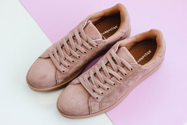 Tênis rosa Amiclubwear