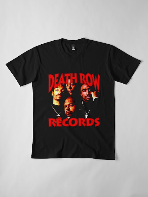 DEATH ROW VIBE COVER PAINTING TSHIRT
