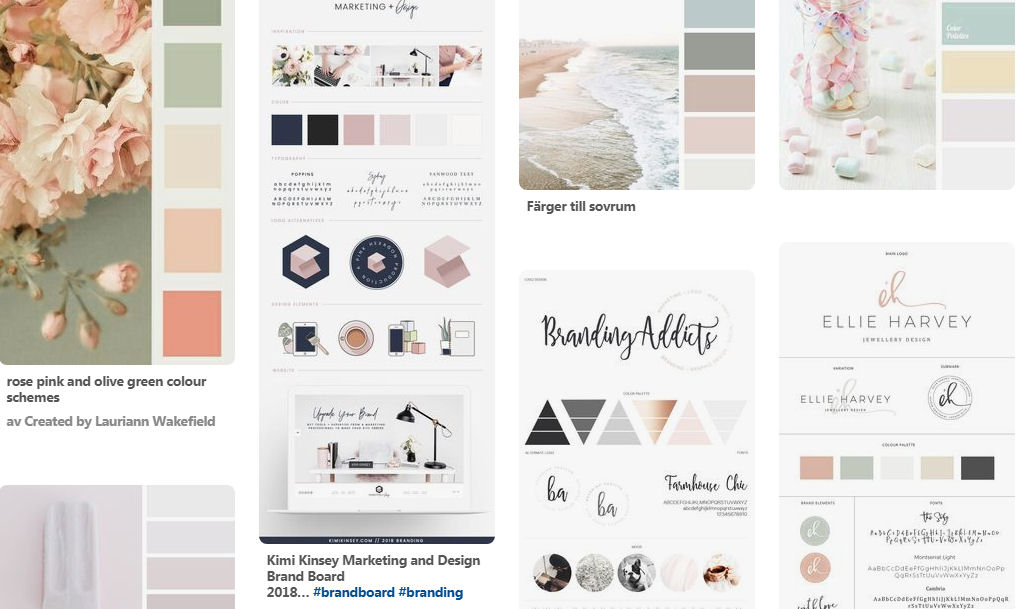 Välja färger till bloggdesign