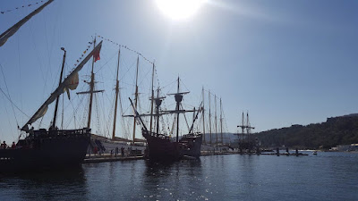 (Almost) Wordless Wednesday - sail ships