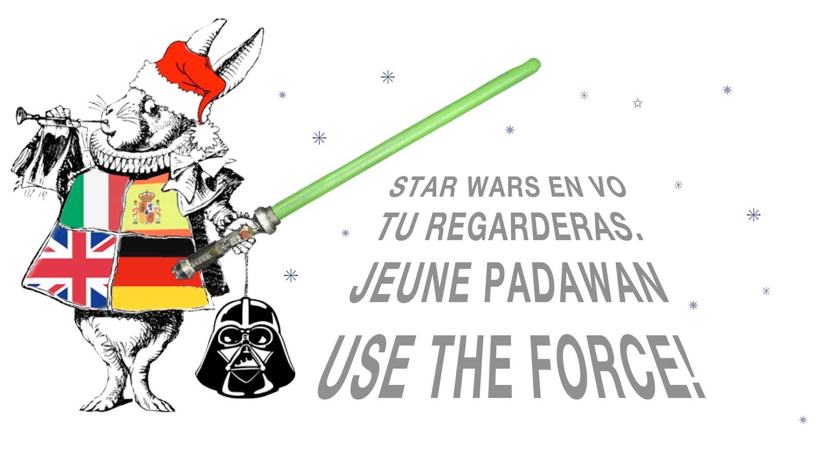 COUR DES MARGUERITES: Use The Force