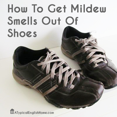 how to clean stinky shoes leather