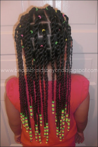 Beads Braids And Beyond Sister Twists Amp Cornrows With A
