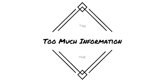 Book Tag: TMI | Too Much Information