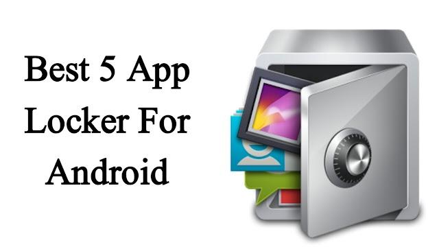 Top 5 apps lock fingerprint sensor and Android app