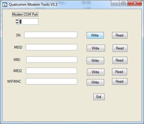 Qualcomm Imei Repair And Write Tools - All BOX CRACK