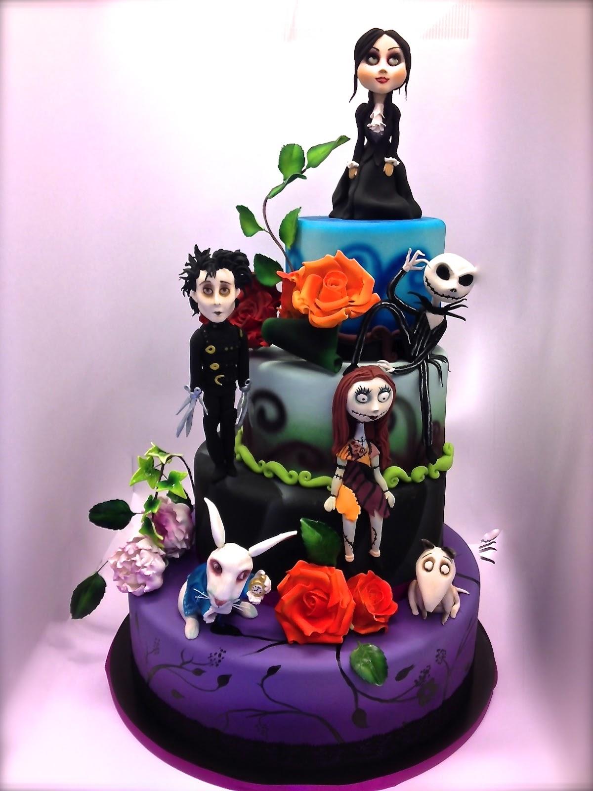 Creative Ideas Tim Burton Birthday Cake