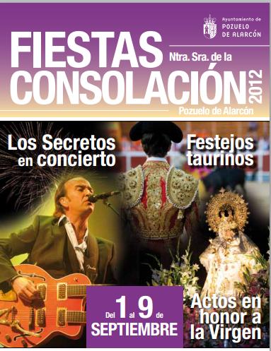 Conciertos en las fiestas de Pozuelo 2012