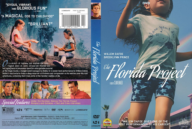 The Florida Project DVD Cover