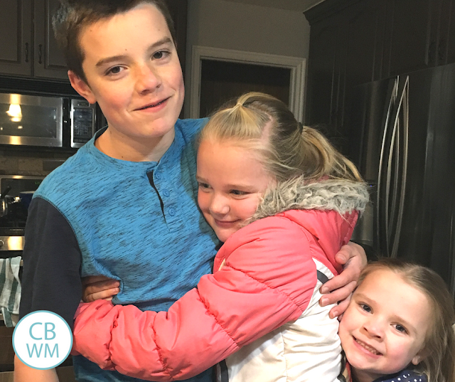 The Perfect Hugging Rule For Siblings. Rules to keep the peace among siblings with different hugging preferences.