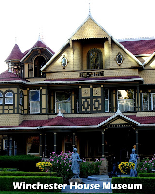 Travel the World: Touring the Winchester Mystery House in San Jose.