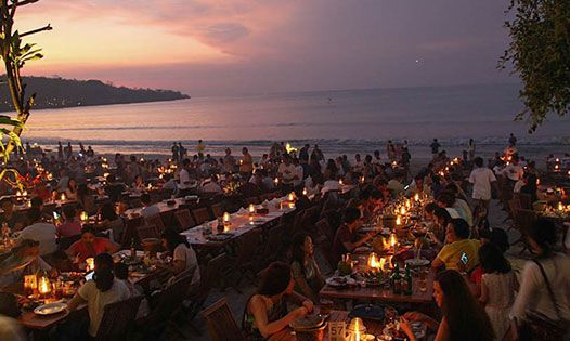 Jimbaran Bay Seafood Dinner - Uluwatu temple sunset tour Bali - Bali Half Day Trip