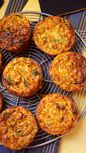 Baked Zucchini Carrot Fritters