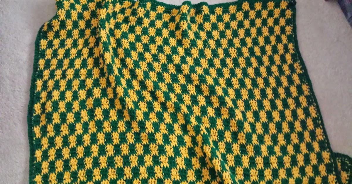 Craftdrawer Crafts Crochet Checker Stitch Afghan Patterns