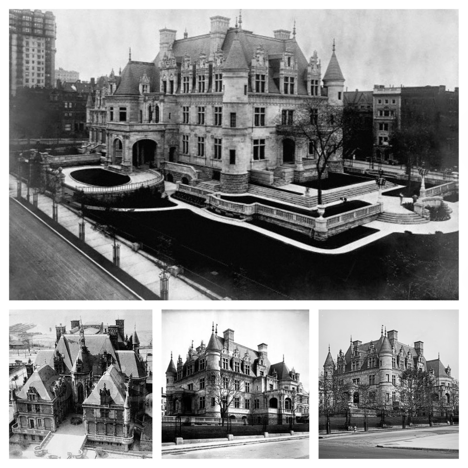 Manhattan New York New York: The Sky's The Limit : The Lost Mansions Of Manhattan: New
