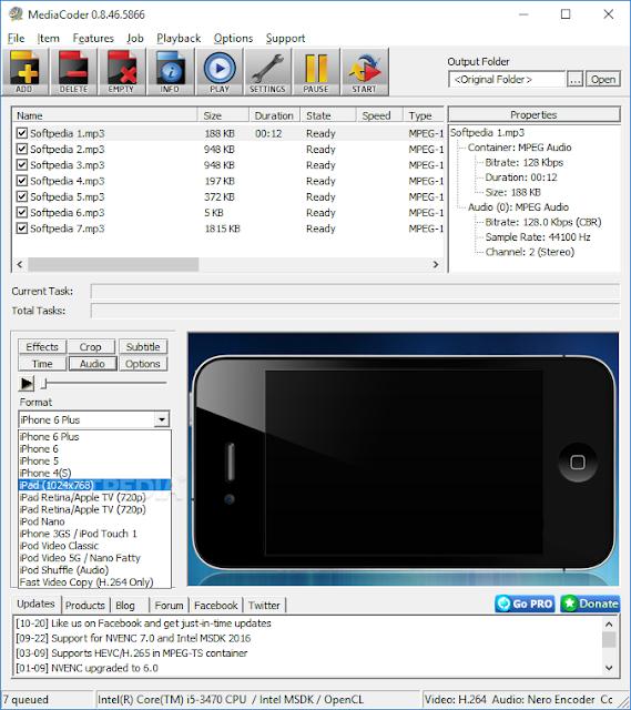 تحميل برنامج تحويل الفيديو للايفون مجانا iPod/iPhone/iPad Edition