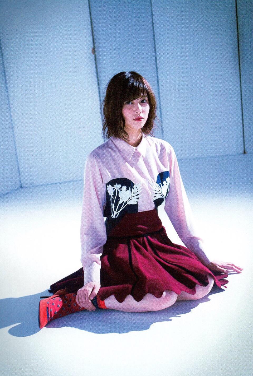 Watanabe Risa 渡邉理佐 Keyakizaka46, BLT Graph 2016.12 Vol.14