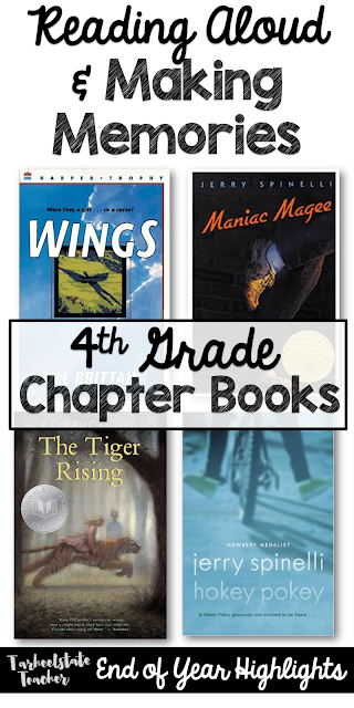 On the lookout for some great chapter book read alouds? This is it! Click through to see four great books and the reading strategies, standards, and skills they allow you to teach with confidence. Great ideas here for your upper elementary students - particularly 3rd, 4th, 5th, and 6th grade classrooms (and even homeschool families). {third, fourth, fifth, sixth grader}