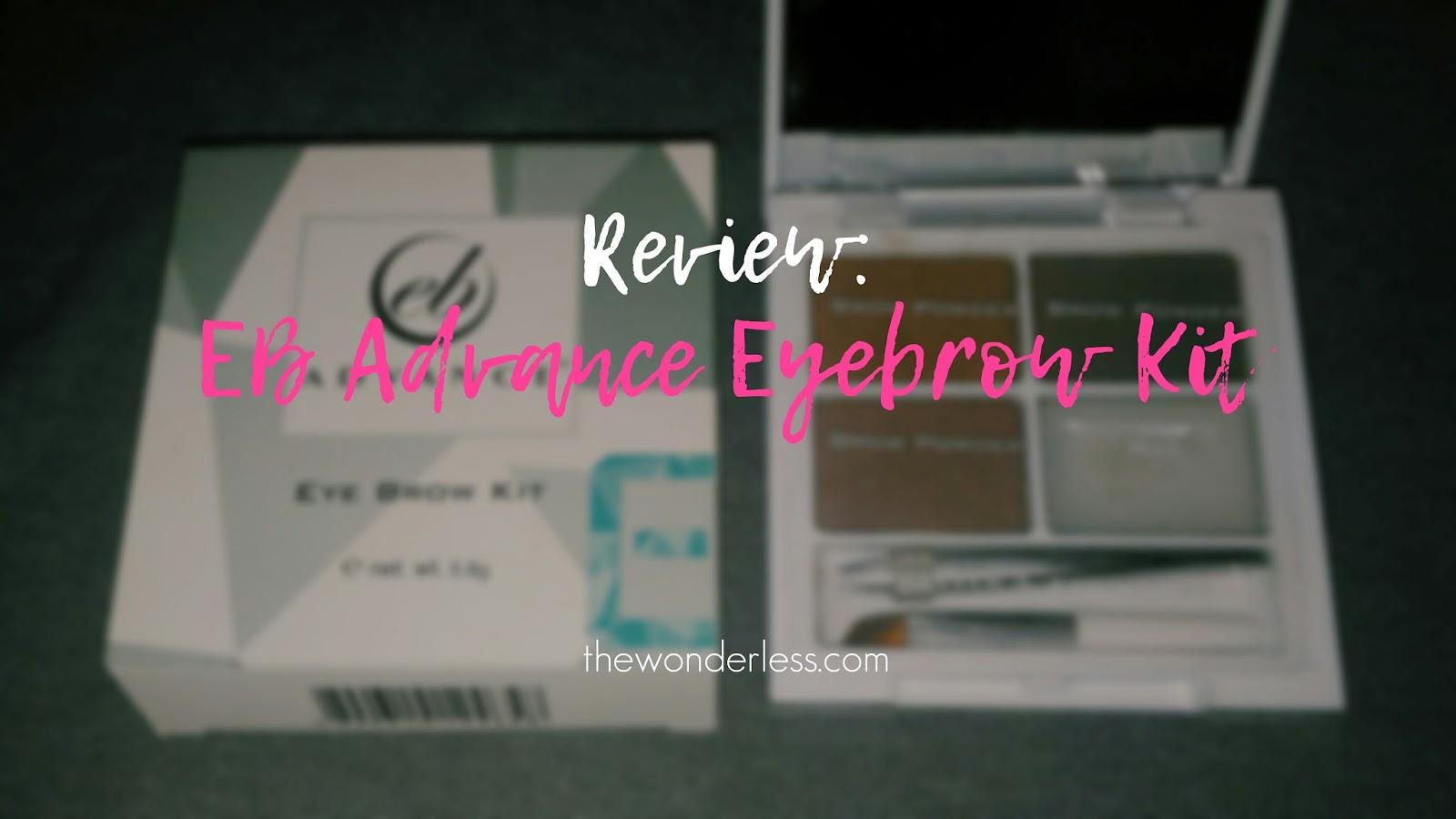 Ever Bilena Advance Eyebrow Kit Review