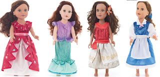 LITTLE ADVENTURES DOLL DRESSES