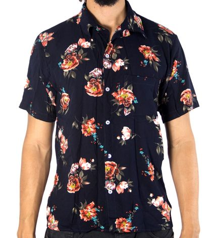3e30a4ee3303f 08) CAMISA ANDY ROLL CLOTHING FLORAL