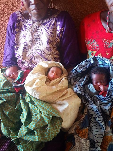 Guinée : Kindia, au 8ème geste une femme donne naissance à des triplés à Bangouyah