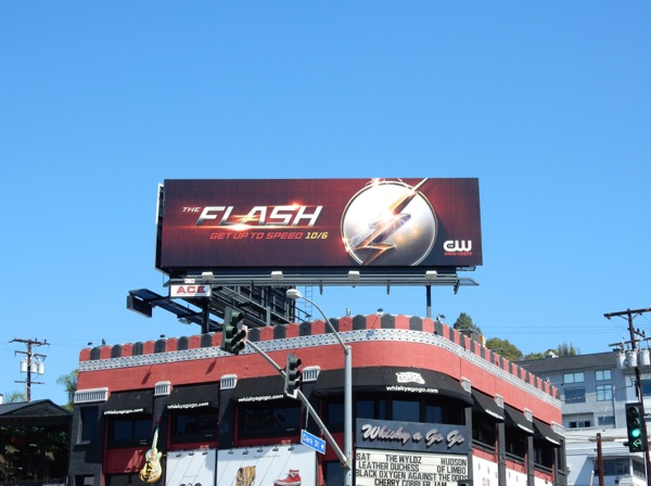 Flash season 2 teaser billboard