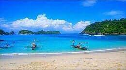 Pantai Wedi Ireng banyuwangi Jawa Timur