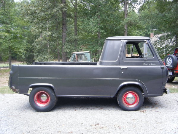 automobile brand 39 s of the past ford econoline pickup 1961 1967. Black Bedroom Furniture Sets. Home Design Ideas