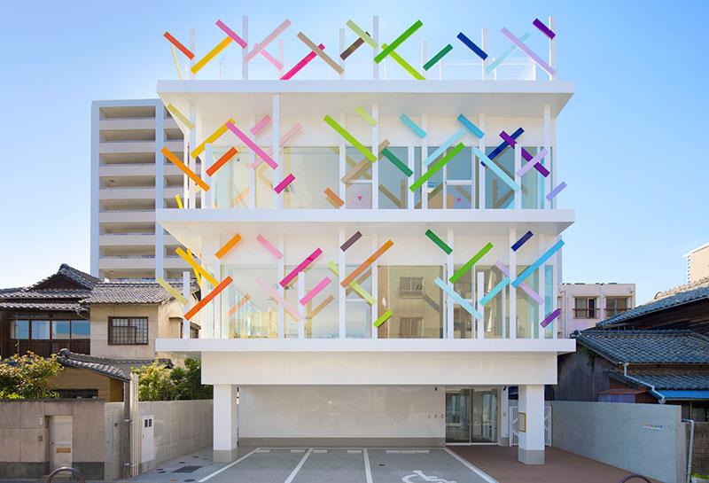 Creche Ropponmatsu Kindergarten by Emmanuelle Moureaux Architecture on