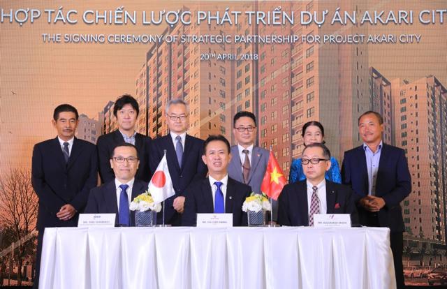 Lễ hợp tác chiến lược giữa Nam Long và các đối tác chiến lược Nhật Bản