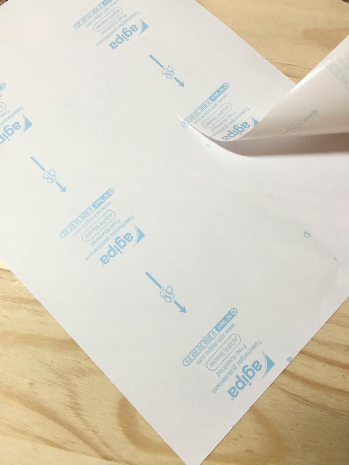 Minimel diy imprimer du tissu sur son imprimante pour faire des petits cadres sympas - Imprimer photo sur tissu ...