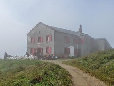 ツール・ド・モンブラン バルム峠小屋 Refuge du Col de Balme