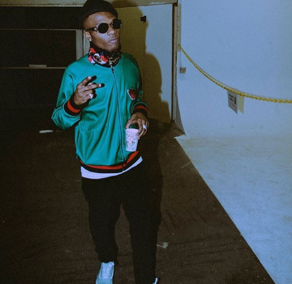 Doctors advise Wizkid over health breakdown, tour dates cancelled