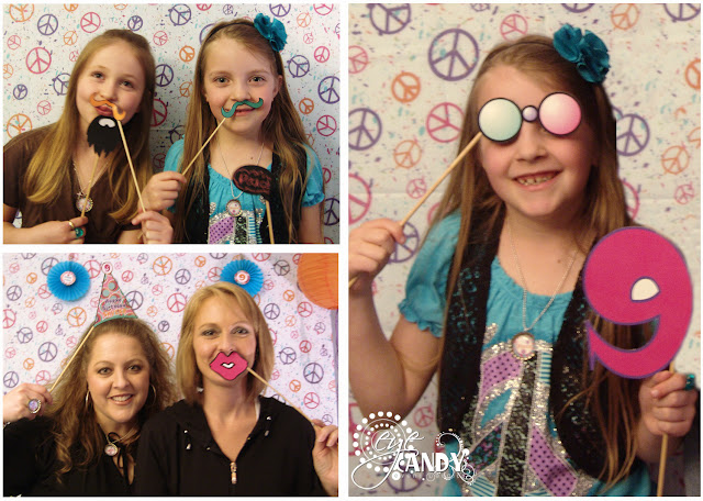 peace party photo booth props