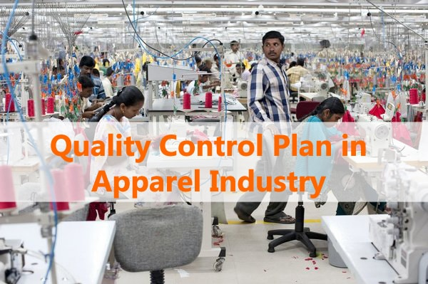 Quality Control Plan In Apparel Industry With Template