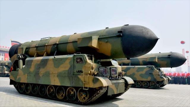 Pyongyang planea ensayar misil balístico intercontinental en 2017