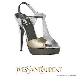 Princess Victoria Style YSL Sandals - JENNY PACKHAM Dress