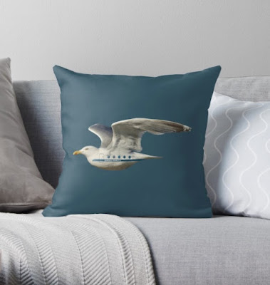 Seagull AIrlines | Seagull Airways pillow