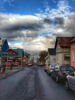 A street in Reykjavík