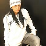 Andrea Rincon, Selena Spice Galeria 19: Buso Blanco y Jean Negro, Estilo Rapero Foto 25