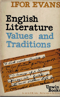 English Literature. Values and Traditions by Ifor Evans